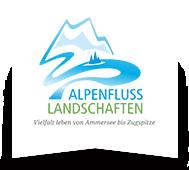 Logo Alpenflusslandschaften