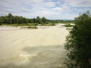 Isar Hochwasserr